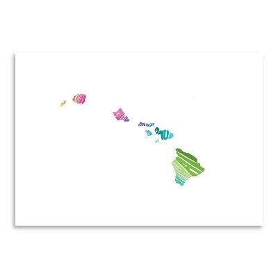 Americanflat Hawaii Spring by Capow Poster