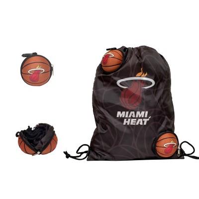 "NBA Miami Heat 9"" Drawstring Bag"