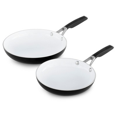 Calphalon 8 Inch and 10 Inch Ceramic Non-stick Fry Pan 2pack Set