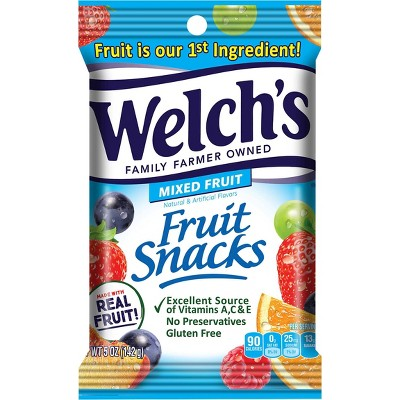 Welch's Mixed Fruit Fruit Snacks - 5oz