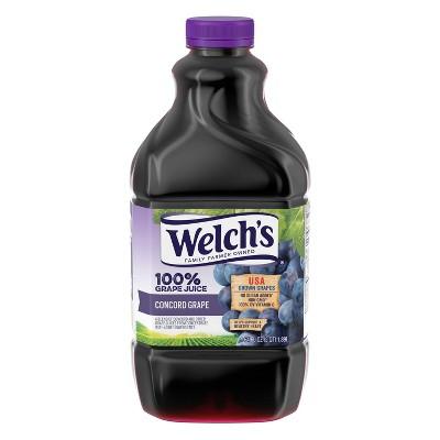 Welch's 100% Grape Juice - 64 fl oz Bottle