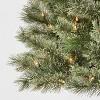 4.5ft Pre-lit Artificial Christmas Tree Virginia Pine Clear Lights - Wondershop™ - image 3 of 4
