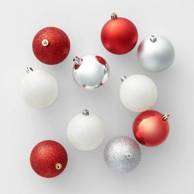50ct 70mm Christmas Ornament Set - Wondershop™