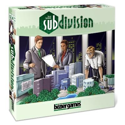 Subdivision Game