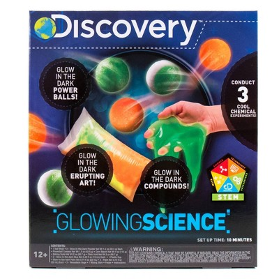 Discovery Kids Glowing Science Activity Kit