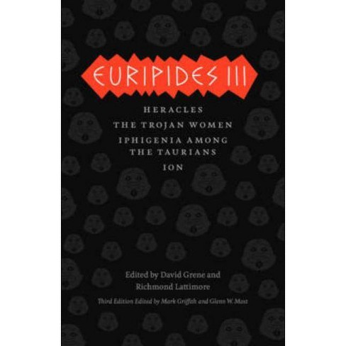 Euripides III - (Complete Greek Tragedies) 3 Edition (Paperback) - image 1 of 1