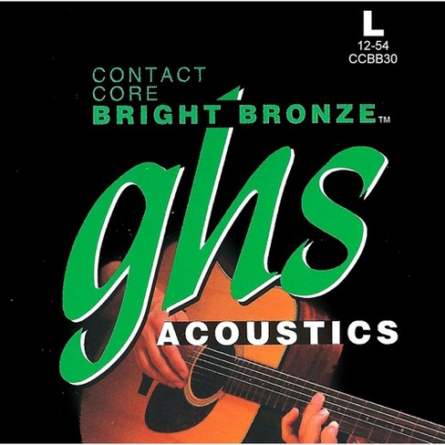 GHS Contact Core Bright Bronze Medium Acoustic Guitar Strings (12-54) - image 1 of 1