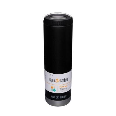 Klean Kanteen 20oz TKWide Portable Drinkware with Loop Cap  - Black