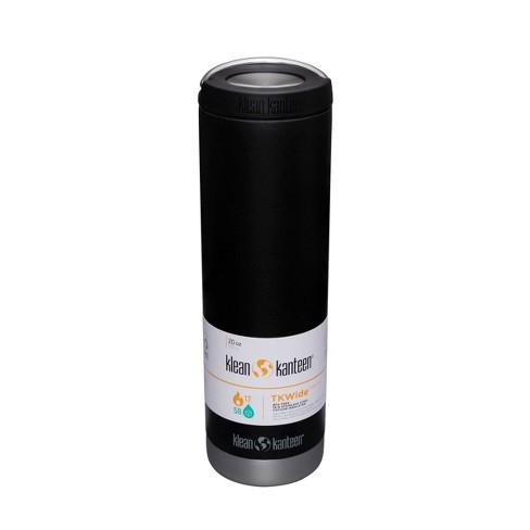 Klean Kanteen 20oz TKWide Portable Drinkware with Loop Cap  - Black - image 1 of 4