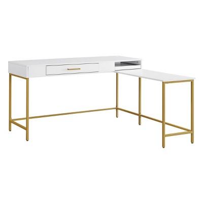 Modern Life L Shaped Desk - OSP Home Furnishings