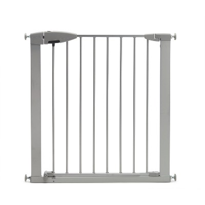 Munchkin Easy Close Baby Gate Silver - 29.5-40.6