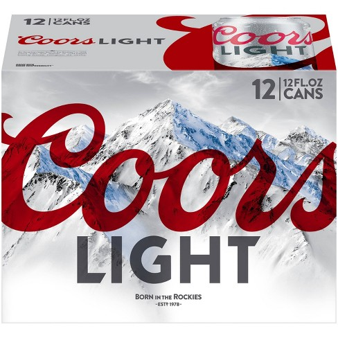 Coors Light Beer - 12pk/12 fl oz Cans - image 1 of 4