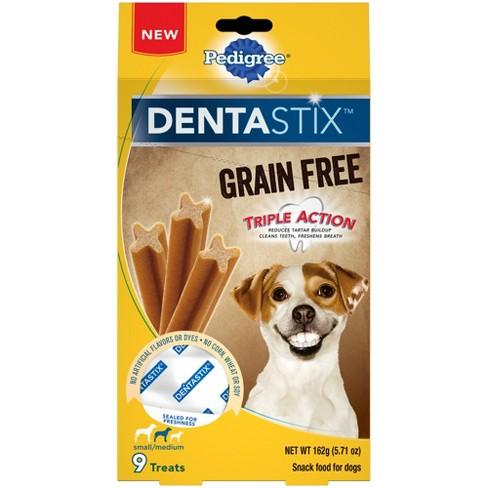 Pedigree DentaStix - Grain Free - Dental Treats For Small/Medium Dogs - 9ct - image 1 of 3