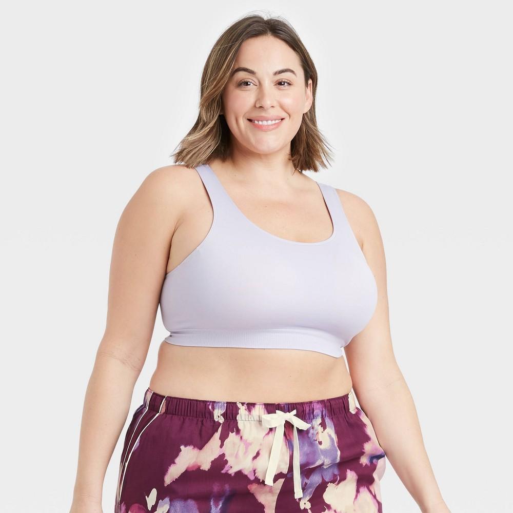 Women 39 S Plus Size Comfort Bralette Auden 8482 Violet 4x
