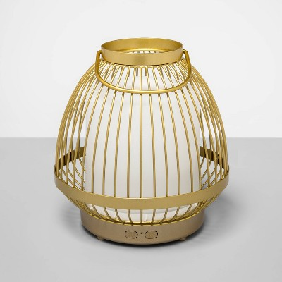 200ml Cage Cordless Oil Diffuser Gold - Opalhouse™