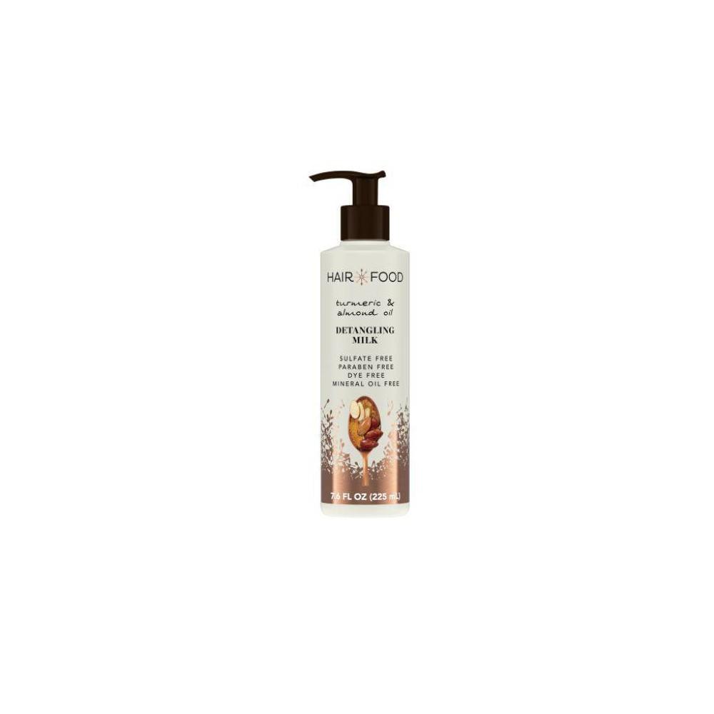 Hair Food Detangling Milk Almond Oil And Turmeric 7 6 Fl Oz