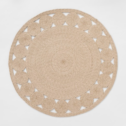 Woven Outdoor Rug - Round - Opalhouse™ - image 1 of 3