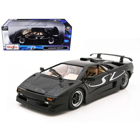 Lamborghini Diablo Sv Black 1 18 Diecast Model Car By Maisto Target
