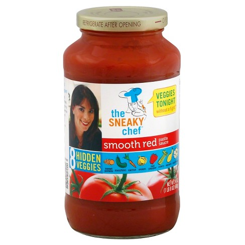 The Sneaky Chef® Smooth Red Pasta Sauce 24 oz - image 1 of 1