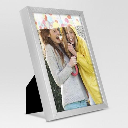 Metal Single Image Frame 5x7 - Brushed Silver - Project 62™ : Target