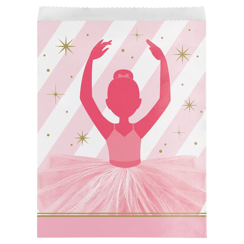 Image of 10ct Ballet Paper Treat Bags