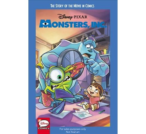 Disney/Pixar Monsters Inc. : The Story of the Movie in Comics -  (Paperback) - image 1 of 1