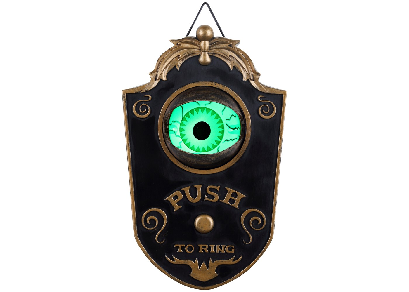 Halloween Animated Eyeball Doorbell - Hyde and Eek! Boutqiue™ - image 1 of 3