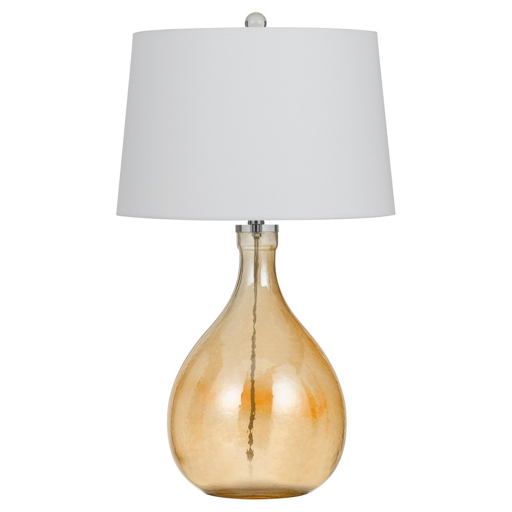 Cal Lighting 150W Perryton Glass Table Lamp (Lamp Only)