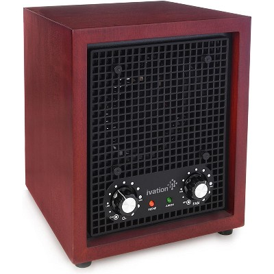 Ivation Ozone Generator Purifies up to 3,500Sq/Ft - Cherry Wood