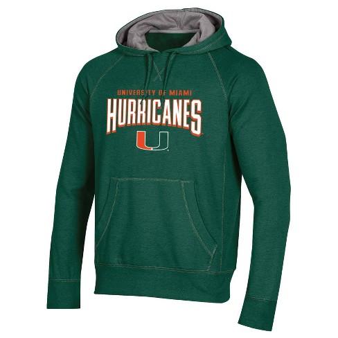 NCAA Miami Hurricanes Men's Cotton Hoodie - image 1 of 2