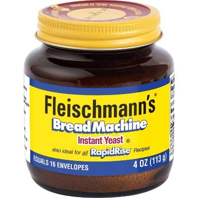 Yeast: Fleischmann's Bread Machine Instant Yeast