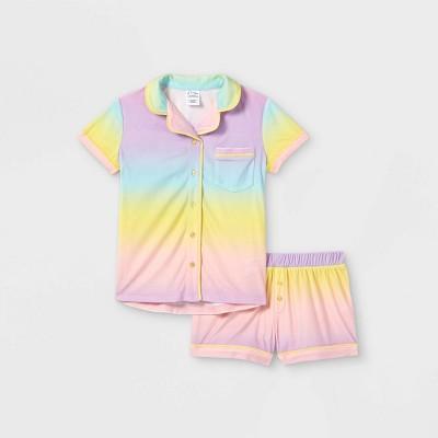 Girls' Tie-Dye Pajama Set - art class™