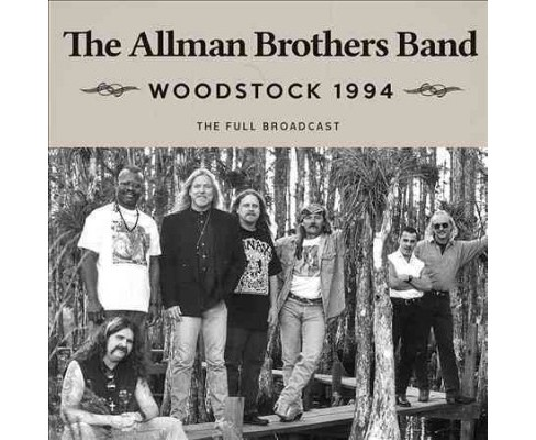 Allman Brothers Band - Woodstock 1994 (CD) - image 1 of 1