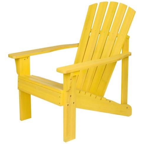 Vineyard Cedarwood Adirondack Chair - Shine Company Inc. - image 1 of 4