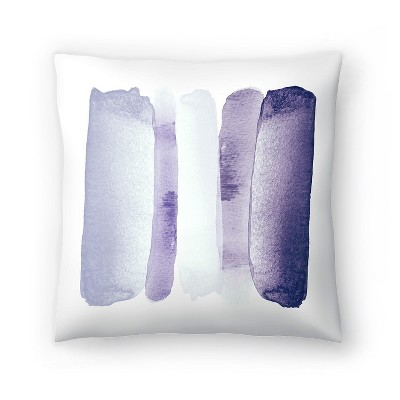 Americanflat Rise Above Purple by Amy Brinkman Throw Pillow