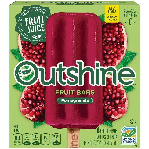 Outshine Pomegranate Frozen Fruit Bars - 6ct/14.7oz - image 1 of 6