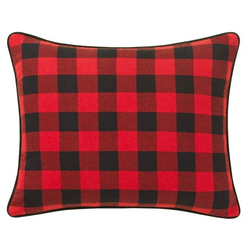 Winter Lab Breakfast Throw Pillow Charcoal - Eddie Bauer - image 1 of 4
