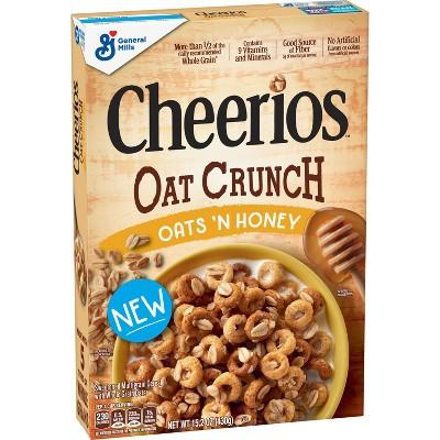 Cheerios Oat Crunch Breakfast Cereal 26oz - General Mills