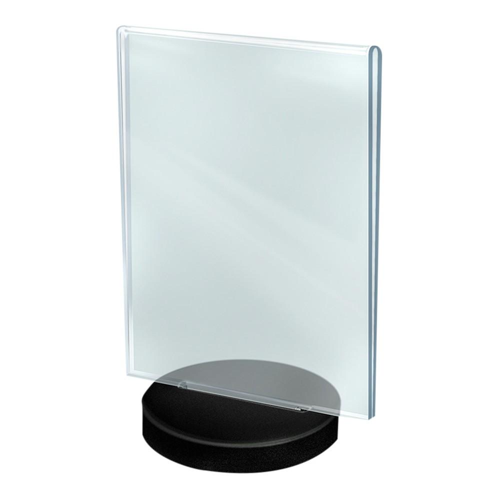 Azar 8 5 34 X 11 34 Vertical Frame On A Black Round Base 10ct