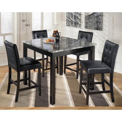 Dining Table Set Black Signature Design By Ashley Target