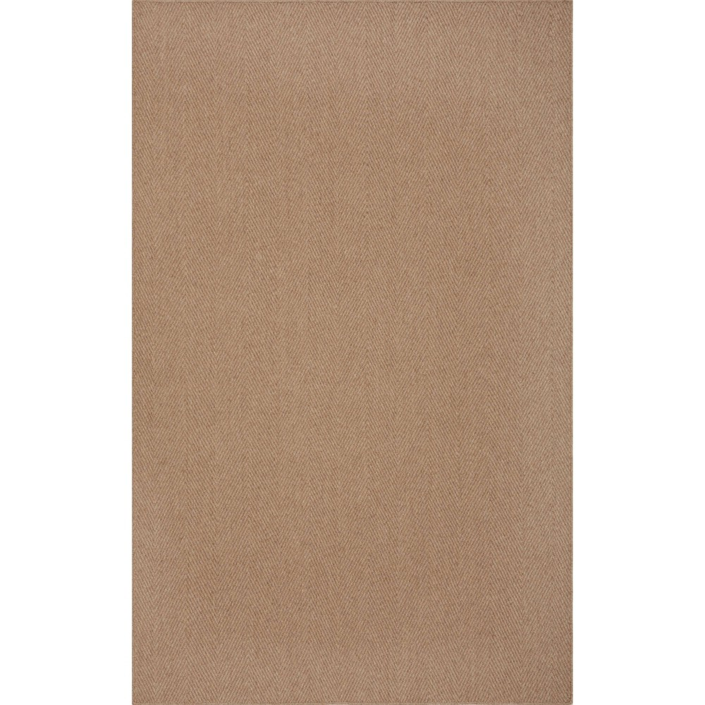 "Image of ""2'3""""X8' Runner Jaxon Farmhouse Area Rug Brown - Addison Rugs"""