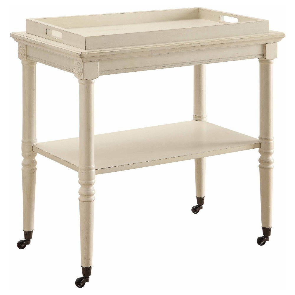 Accent Table Off White, Accent Tables