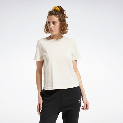 Reebok Classics Washed Tee Womens Athletic T-Shirts