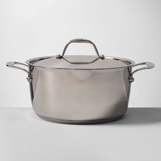 Stainless Steel Dutch Oven 5qt - Made By Design™
