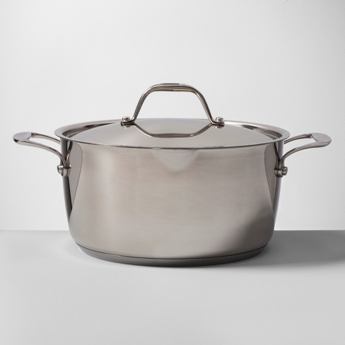 Stainless Steel Dutch Oven 5qt - Made By Design™ - image 1 of 4