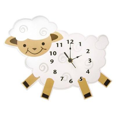 Lamb Wall Clock White - Trend Lab®