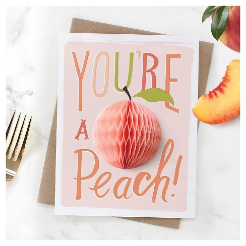 Inklings paperie pineapplepeach apple pop up greeting cards 3 4 more m4hsunfo