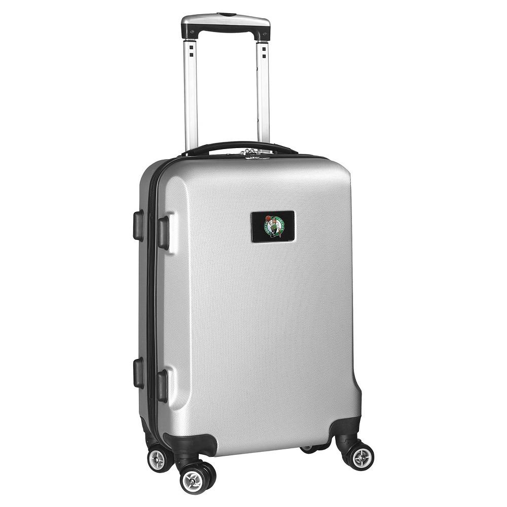 NBA Boston Celtics Mojo Hardcase Spinner Carry On Suitcase - Silver