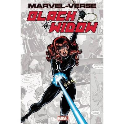 Marvel-Verse: Black Widow - (Paperback)