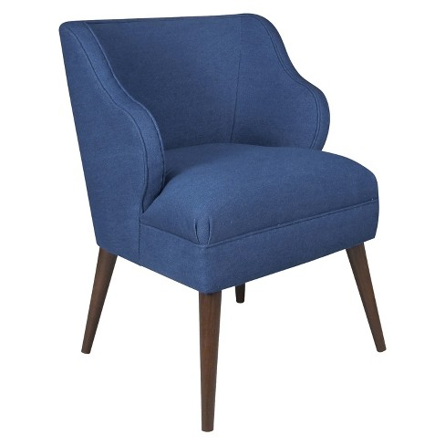 Accent Chair Denim Blue - Skyline Furniture® - image 1 of 6